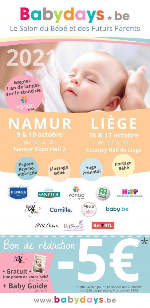 BabyDay de Namur ce 9/10 ocobre